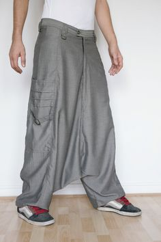 If only they'd let me wear THESE on my mission. Turbans, Trouser Pants, Harem Pants, Low Crotch Pants, Baggy, Herringbone, Chevron, Menswear, Mens Fashion
