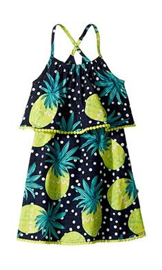 2f37f1cf6757 Appaman Kids Pineapple Lee Dress (Toddler Little Kids Big Kids) Girl s  Dress Pina