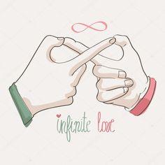 ❤❤❤infinite discovered by princesha vogel on We Heart It Infinite Logo, Infinite Symbol, Infinite Love Quote, Logo Infinity, Tattoos Infinity, Infinity Symbol Love, Infinity Quotes, Infinity Art, Love Doodles