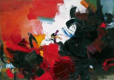 Lyrical abstraction Jean Miotte