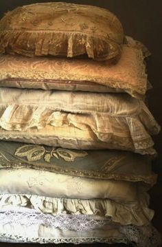 <3 French Boutique, Colorful Bedding, Bed Pillows, Cushions, Fairytale Cottage, Duvet Bedding Sets, Linens And Lace, French Furniture, Soft Surroundings