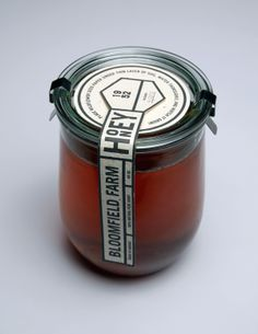 Bloomfield Farm Honey Packaging on the AIGA Member Gallery