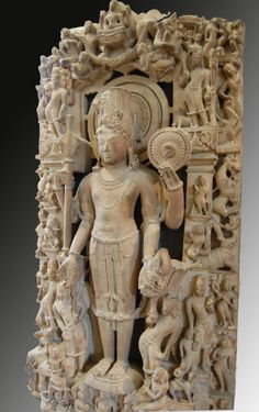 Harihara - Vishnu et Shiva Shiva, Krishna, India Art, Mythological Creatures, Buddhist Art, Gods And Goddesses, Religious Art, British Museum, Asian Art
