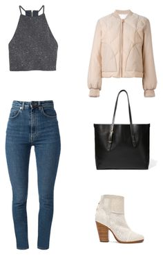 """January 2017, #13"" by mitchieanne21 on Polyvore featuring rag & bone, Yves Saint Laurent, See by Chloé and H&M"