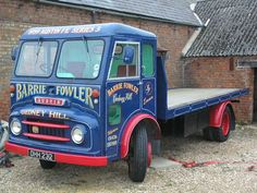 1959 Austin Flat Bed Lorry- Last one known of its type on Car And Classic UK [C411923]