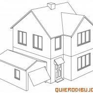 Como Dibujar Una Casa Bonita Dibujo De Casa Como Dibujar Una Casa Hacer Planos De Casas