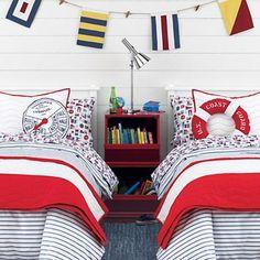 sailing bedding