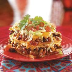 Enchilada Casser-Ole! Recipe from Taste of Home Comfort Food Diet