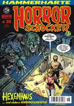 Cover for Horrorschocker (Weissblech Comics, 2004 series) #26 OKTOBER 2011