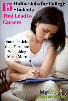 Get more than just extra cash with these online jobs perfect for college students. Set your own hours, make money and get a career.