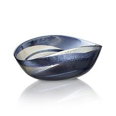 Oceana Square Bowl in Art Glass | Crate and Barrel