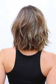 I love this cut. If you want a natural new medium layered hair cuts from summer to fall, why not try these medium layered hair cuts hair styles or colors? There are a ton of options for you to choose. Check out!