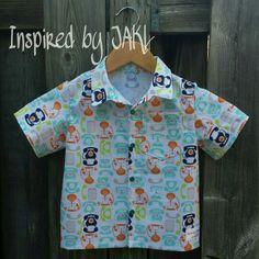 #custom #handmade  shirt from #inspiredbyjakl