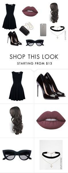 """malia no velorio"" by kassy-almeida on Polyvore featuring moda, Oasis, Lime Crime, ASOS Curve, Native Union e Clare V."