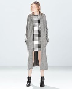 ZARA - WOMAN - HOUNDSTOOTH DRESS