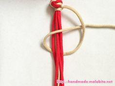 タッチング結びの編み方手順12
