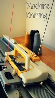 Machine knitting workshop