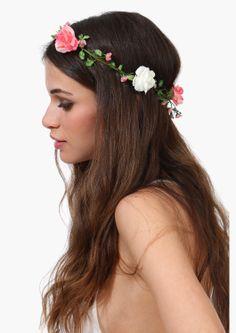Rose Garden Head Piece   Necessary Clothing