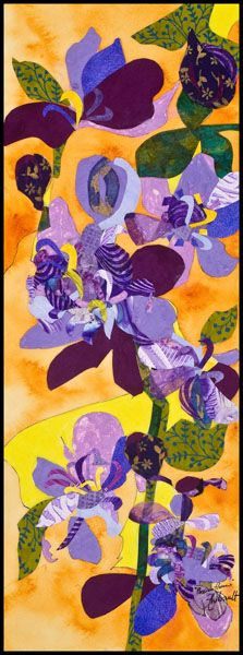Passion Flowers by Deanna Thibault