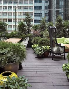 Duddell's Restaurant Rooftop Garden / Hong Kong