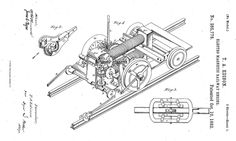 Edison's Electro Magnetic Railway Engine... | The Evolution Of 10 Edison Inventions We Still UseToday