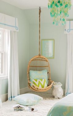 Hanging Chair. Bedroom ...