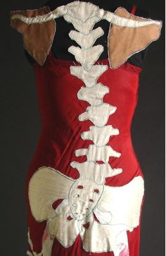 Designed by Rachel Wright, Dream Anatomy is an anatomical fashion design that allows you to wear the inside of your body on the outside