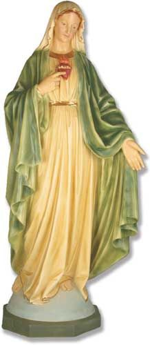 Mary with Hand Outstretched 49 - Statue of the Blessed Virgin Mary