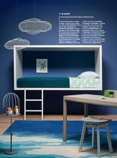 #Dreams wrapped up in a single line. Lagolinea #bed on Wallpaper* magazine  for #kidsbedroom #interiordesign #lagodesign #kids #bedroom #homedecor #home #ideas