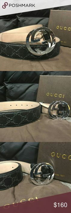 Authentic Gucci belt A picture is worth 1000 words.  This stylish belt is amazing 100% real or your money back  Unisex  Brand new   Serious buyers only ! Gucci Accessories Belts