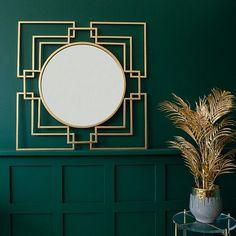 art deco Unusual Home Accessories Art Deco Decor, Art Deco Stil, Art Deco Home, Art Deco Living Room, Art Deco Bedroom, Bedroom Decor, Decoration Design, Art Deco Design, Spiegel Gold