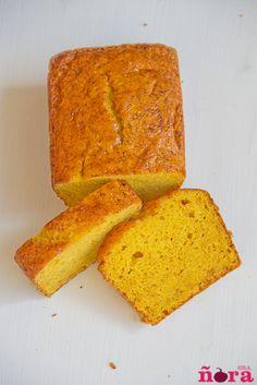 Bizcocho de mango y naranja