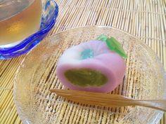 7月の上生菓子「朝顔」 |群馬県高崎市の和菓子屋「六郎」の(嫁)ブログ
