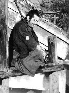 """"""" Toshiro Mifune in Yojimbo (1961) """""""