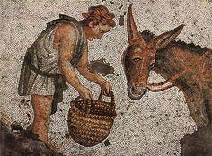 Byzantinischer Mosaizist des 5. Jahrhunderts 002 - Great Palace Mosaic Museum - Wikipedia, the free encyclopedia