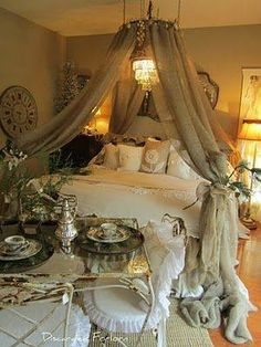 Dreamy bed for dreaming