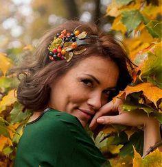 Jesenná nr.4 by HOGO FOGO by Liza - SAShE.sk - Handmade Čelenky