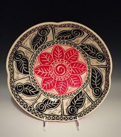 Sgraffito by Linda Ellard-Brown, Tootsie Bowl Pottery