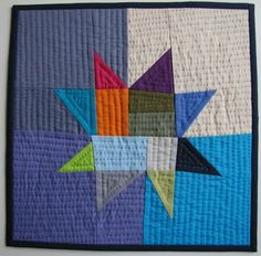 Alamosa Quilter: wonky piecing love the traditional amish colors with a fresh wonky look