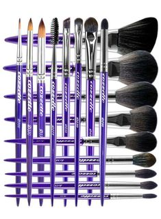 In my opinion Cozzette vegan makeup brushes are the best on the market. If you're choosing where to invest your money a set of professional-grade high-quality brushes can do more for you than even the most luxurious makeup. And these are the ones to buy!