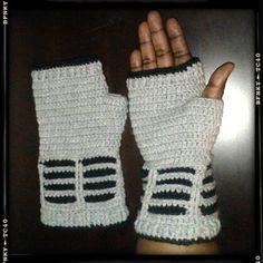 Ravelry: Doctor Who Dalek Inspired Fingerless Gloves pattern pattern by Acquanetta Ferguson