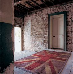 This is how to do an Abusson.....VW Flag by Vivienne Westwood for The Rug Company