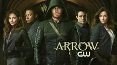 Arrow cast - Left-to-right - Thea Queen (Willa Holland), John Diggle (David Ramsey), Oliver Queen (Stephen Amell), Tommy Merlin (. Arrow Tv Show Cast, Arrow Tv Series, Cw Series, Arrow Serie, The Cw, The Ateam, Thea Queen, Colin Donnell, Willa Holland