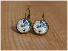 Pendientes Butterfly Flowers