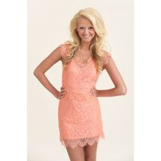 Portrait of a Lady Dress-Hot Coral - $44.00