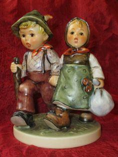 "HUMMEL GOEBEL GOING HOME #383 TMK6 GERMANY figurine 5"" NO BOX fast shipping! #Hummel"