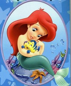 Ariel and Flounder                                                       …