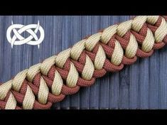 "How to Make the ""Ocean Waves"" Paracord Survival Bracelet / Bonus Tutorial-Macrame Version - YouTube More"