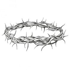 Crown of thorns religious symbol hand drawn vector illustration sketch Crown Art, Crown Drawing, Religious Symbols, Religious Art, Dorn Tattoo, Jesus Crown, Witch Tattoo, Tattoo Hals, Crown Of Thorns