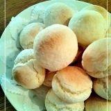 白玉粉とホットケーキミックスで作る★ポンデケージョ